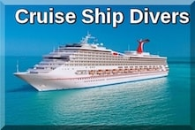 Cruise ship divers st Thomas
